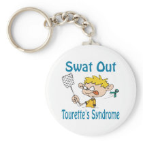 Swat Out Tourette'S-Syndrome Keychain