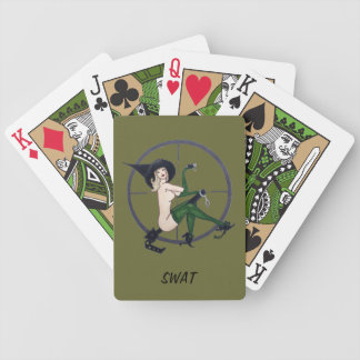 SWAT Playing cards - Witchified