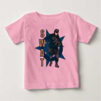 SWAT Police Officer Baby T-Shirt