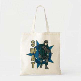 SWAT Police Officer Tote Bag