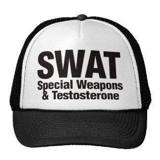 SWAT, Special Weapons and Testosterone Trucker Hat