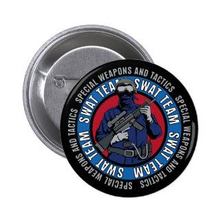 Swat Team Pinback Button
