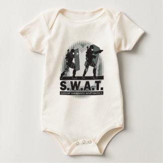 SWAT Team Entrance Baby Bodysuit