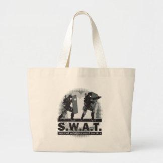 SWAT Team Entrance Large Tote Bag