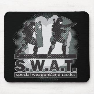 SWAT Team Entrance Mouse Pad