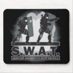 SWAT Team Entrance Mousepads