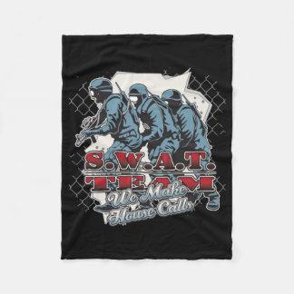 SWAT Team House Calls Fleece Blanket