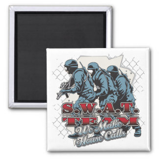 SWAT Team House Calls Magnets
