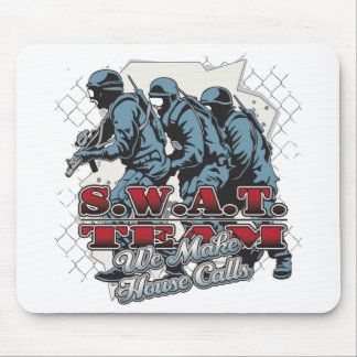 SWAT Team House Calls Mouse Pad