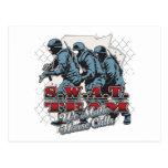 SWAT Team House Calls Postcard