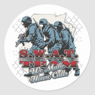 SWAT Team House Calls Stickers
