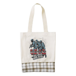 SWAT Team House Calls Zazzle HEART Tote Bag