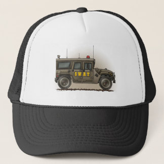 SWAT Team Hummer Hat