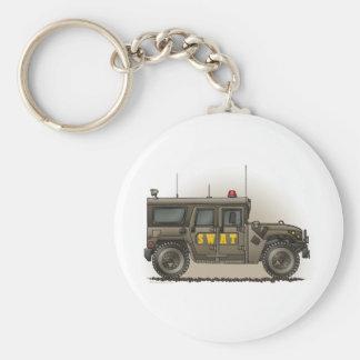 SWAT Team Hummer Keychain