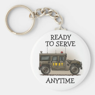 SWAT Team Hummer Keychain RTSA
