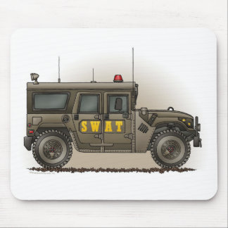 SWAT Team Hummer Mouse Pad