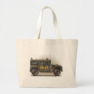SWAT Team Hummer Tote Bag