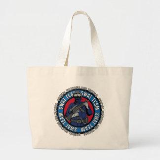 Swat Team Large Tote Bag