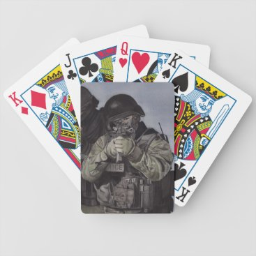 Swat Team Make It Count Playing Poker Cards