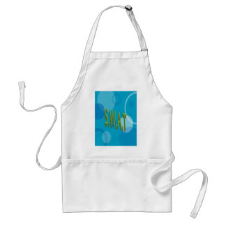 SWAT with background Adult Apron