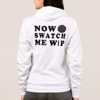 Swatch Me WIP Yarn Knit Crochet Crafts Hoodie