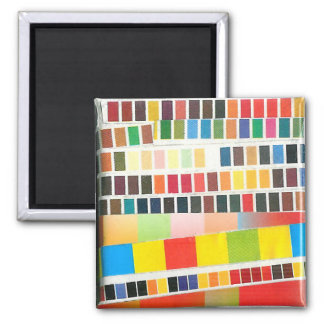 swatch stripes magnet