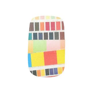 swatches stripes minx nail wraps