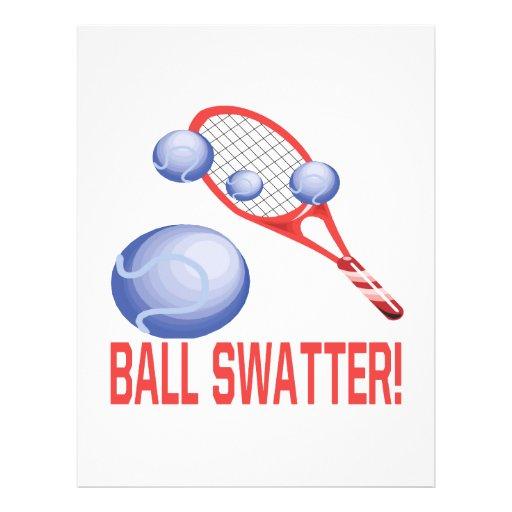 """Swatter de la bola folleto 8.5"""" x 11"""""""