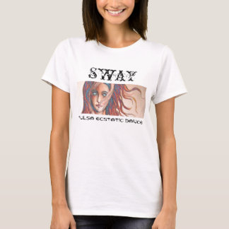 Sway Title with Rebirth of Venus, No Border T-Shirt
