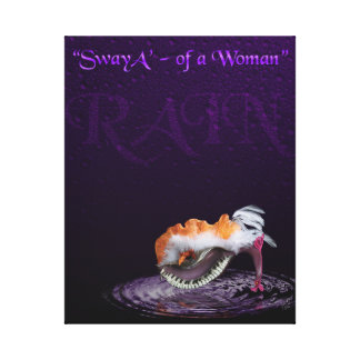 """""""SwayA' ~of a Woman"""" Print of a Sculpted Shoe"""