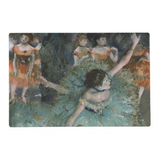 Swaying Dancer, Dancer in Green by Edgar Degas Placemat