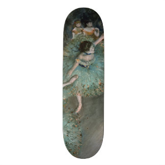 Swaying Dancer, Dancer in Green by Edgar Degas Skate Board