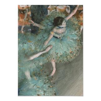 Swaying Dancer - Edgar Degas Card