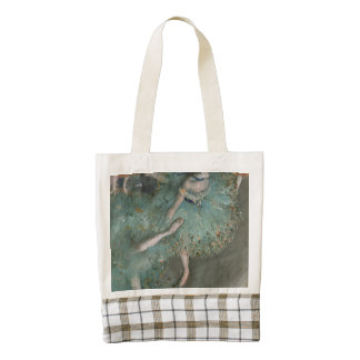 Swaying Dancer - Edgar Degas Zazzle HEART Tote Bag
