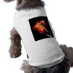 Swaying Flames Dog Shirt