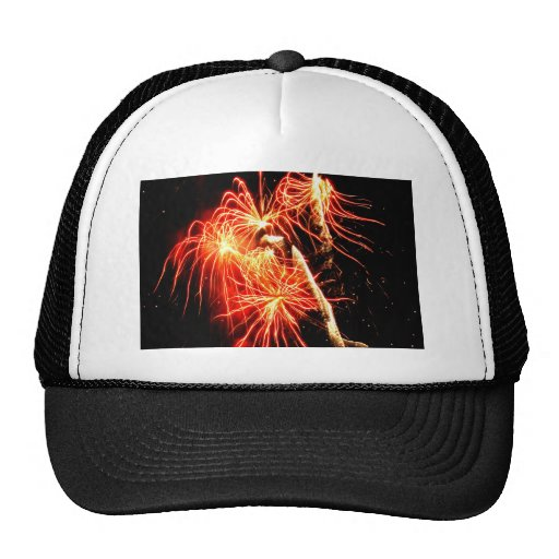Swaying Flames Trucker Hat