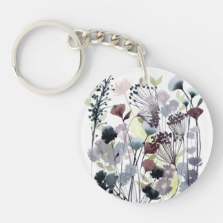 Swaying Florets II Keychain