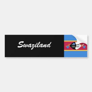 Swaziland Car Bumper Sticker