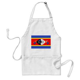 Swaziland Flag Adult Apron