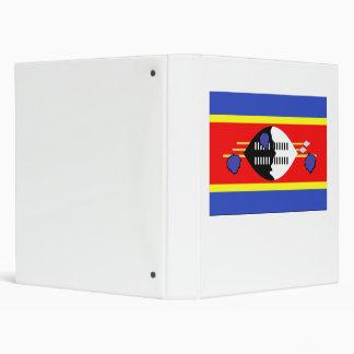 Swaziland Flag Binder
