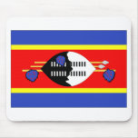 Swaziland Flag Mouse Pad