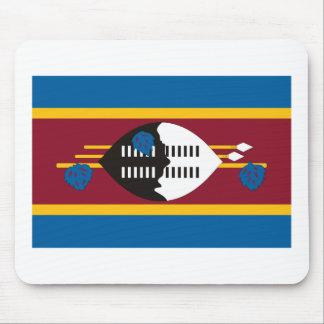 Swaziland Flag Mousepad