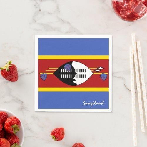 Swaziland  Flag party fashion sports fans Napkins