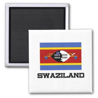 Swaziland Flag Refrigerator Magnets