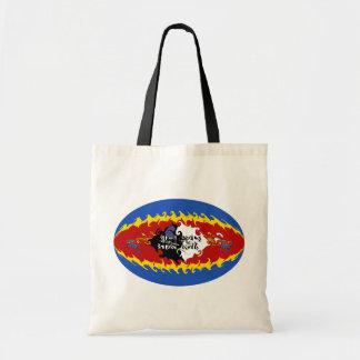 Swaziland Gnarly Flag Bag