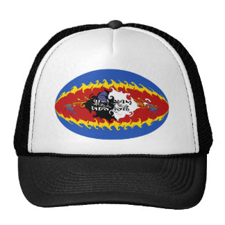 Swaziland Gnarly Flag Hat