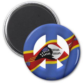 Swaziland Fridge Magnet