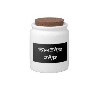 Swear Jar Candy Dishes