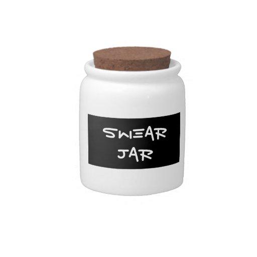 Swear Jar Candy Jars