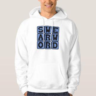 Swear Word, Curse Word Hooded Sweatshirt